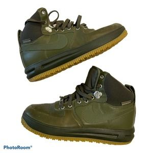 Nike Air Lunar Force 1 Youth Olive 706803-202